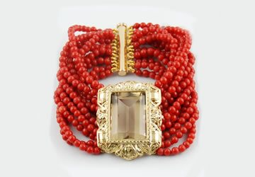 Compro Diamanti Prenestina - Acquistiamo gioielli e preziosi di corall, di tutti i tagli e gradazioni